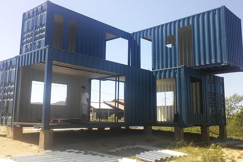 As 4 principais etapas para construir uma casa container for Casas de container modernas